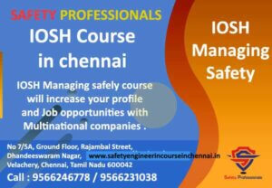 iosh course in chennai